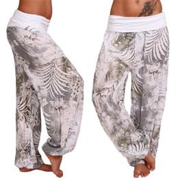 Geniş Bacak Yoga Pantolon Artı Boyutu Kadınlar Gevşek Pantolon Uzun Pantolon Yoga Dans S M L XL XXL XXXL için Yumuşak Modal Ev # 20006 cheap xxl modal pants nereden xxl modal pantolon tedarikçiler