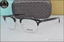 baac6de5ad4 HOT SALE-2016 New arrived retro vintage brand Moscot YUKEL johnny depp  prescription glasses optical eyeglasses spectacle frame men eyewear