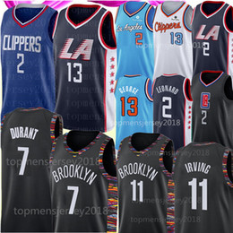 l basketball jerseys Coupons - NCAA Kawhi 2 Leonard Jersey 7 Kevin Durant jersey Paul 13 George Kyrie Mens Irving jerseys University 2019 Basketball Size S-XXL