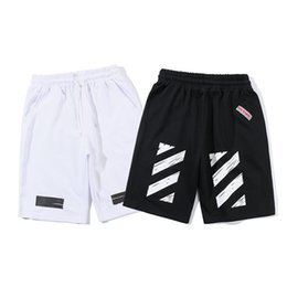 Net Eye Basics Shorts Zebra Black and Stripe Flocking Hombres y Mujeres Paragraph Motion Shorts desde fabricantes