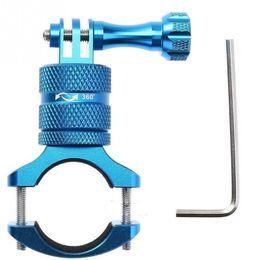 Aleación de aluminio de montaje en bicicleta abrazadera giratoria bicicleta manillar soporte para teléfono adaptador de soporte para Gopro Hero # 186443 desde fabricantes
