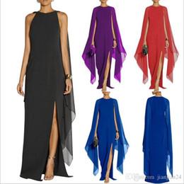9b677bf36c62 abiti atmosferici Sconti Fashion Explosion Promozione Europa e America  estate vestito da donna in chiffon lungo