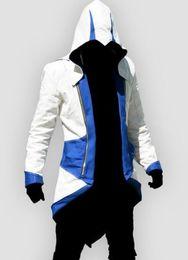 Conner kenway jacket en Ligne-Assassins Creed Veste - Assassins Creed III Costume À Capuche Cosplay Conner Kenway 6 Couleurs Pour Hommes Assassins Creed Hoodies Costume