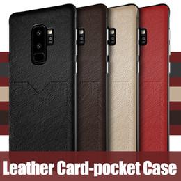 samsung pocket nouveau Promotion Cuir de luxe pour Pocket Pocket Nouveaux étuis pour Samsung Galaxy S10 S10e S9 S8 Plus Note 9 8 iPhone XR XS MAX X 6S Plus