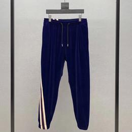 Frauen mode hosen klassisch online-19SS Made in Italy Klassische Hose Outdoor-Sport Jogginghose Fitness Hose Art und Weise beiläufige Straße Männer Frauen Streifenhosen HFYMKZ179