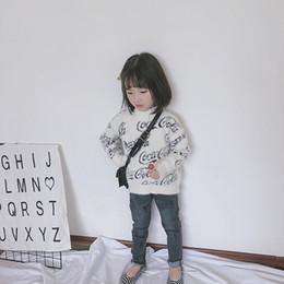 roupas grossistas por atacado para crianças Desconto Crianças Designer de Camisolas Carta Ativa Impressão Pulôver para Meninos Moda Meia Gola Alta Camisola Roupa Dos Miúdos Por Atacado de Alta Qualidade