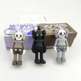 Figura ação rua on-line-KAWS BFF Chaveiro Tendência boneca Brian Street Art PVC Action Figure Versão Limitada Coleção Modelo Presente de Brinquedo Correias Encantos DHL