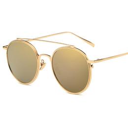 Nouvelle mode mens lunettes de soleil pour femmes cadre en métal simple style de loisirs de qualité supérieure protection UV lunettes de soleil ? partir de fabricateur