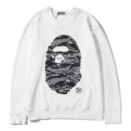 BAPE Hoodie Hip Hop Ein Badeaffe Designer Hoodie Jacke Männer Frauen Hohe Qualität Schwarz Weiß Casual Sweatshirts von Fabrikanten