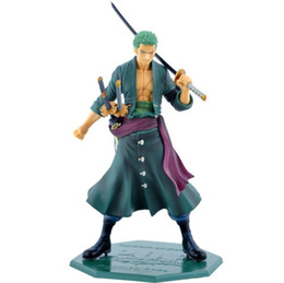 Canada Une pièce Roronoa Zoro figurine jouets collection adulte jouet avec boîte Anime Action Figure Model cheap figure doll adult toy Offre