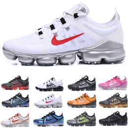 Sapatos de corrida para senhoras on-line-Novo 2019 Casual Vap ou sapatos TN Plus Maxes Mulher Choque Running Shoes Run Utility Moda Mens senhoras Esportes Tênis Tamanho US5.5 ~ 11 F6964