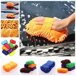 2019 outil de nettoyage de fenêtre de voiture Éponge de voiture nettoyage auto serviette de nettoyage outil de lavage de voiture fenêtre maison gants de nettoyage éponge serviette en tissu FFA1398 promotion outil de nettoyage de fenêtre de voiture