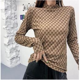 broche de manga comprida Desconto 20ss Casual Floral camisa de manga longa Mulheres 2019 Primavera e Verão Novo Tamanho Grande Cotton soltas impressão da camisa