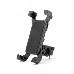 cartão de plástico para placa de plástico Desconto Motocicleta universal da bicicleta da bicicleta guiador mount holder para ipod telefone celular gps stand titular para iphone samsung