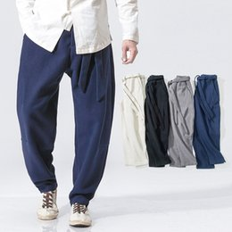 Argentina Braguitas MRDONOO, pantalones casuales de cachemira, invierno XL, pantalones, algodón chino, lino, pantalones Haren # 347838 cheap tie dye cashmere Suministro