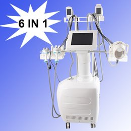 Dispositivos de masaje de grasa online-Máquina de vacío eliminación de grasa con diodo láser Vacío RF velashape masaje ultrasónico velashape que forma los dispositivos de congelación de grasa