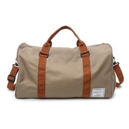 Bolsos de moda para hombres online-Nueva moda Oxford tela impermeable bolsa de equipaje Casual moda hombres bolsa de gimnasio elegante de gran capacidad para viajes deportivos