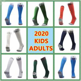 Spanische socken online-für Erwachsene + Kinder 2020 2021 European Cup Belgien Deutschland Nordirland Spanien japan Italien-Fußball Socken Strümpfe Kindsport Fußballsocken