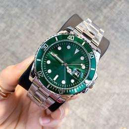 Bracelets de style en Ligne-2019 Classique modèle homme Montre de luxe en argent en acier inoxydable Montres-bracelets designer style populaire moderne montre Homme horloge haute quailty