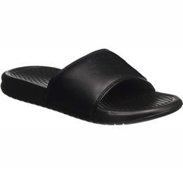2019 sandali scivolo piattaforma Sandali da uomo Scivoli Scarpe da donna Sandali con plateau Huaraches Pantofole sportive Causali antiscivolo Summer Beach Designer Shower Pool Slide Shoes sandali scivolo piattaforma economici