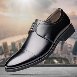 Мужская обувь летняя мода онлайн-new men shoes breathable wear-resistant mens dress shoes spring summer autumn formal men fashion solid color flat male