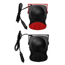 Ventiladores elétricos 12v on-line-12 V 150 W Defogge Windscreen Janela Do Vento Quente Do Carro Quente Elétrico de Aquecimento Aquecido Ventilador de Refrigeração Demister Desembaciador