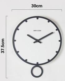 swing bianco Sconti Swing grande orologio da parete design moderno 3d vintage orologio da parete frameless soggiorno artigianato set di orologi in legno bianco 12 14 pollici orologio