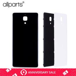 Argentina Carcasa trasera original en blanco y negro para Xiaomi 4 mi4 Tapa trasera Batería Puerta para reemplazo de Xiaomi mi4 Suministro