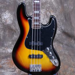 Elétrico, jazz, baixo, corda on-line-Electric Guitar Jazz Bass 4 String 3TS High Quality Basswood Body Maple Head