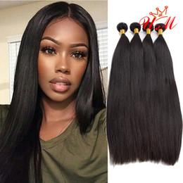 100% İnsan saç Perulu bakire düz 3 paketler düz bant İnsan saç uzantıları ucuz İnsan saç dokuma paketler doğal siyah renk nereden