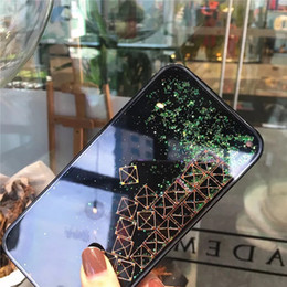 Para iphone xs xr phone case novo Tetris quicksand caso de telefone móvel caso de areia movediça TPU capa protetora de