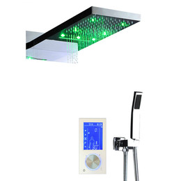 massage numérique Promotion Thermostat numérique écran tactile led set de douche 22