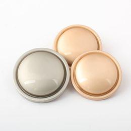 British style Creative pure metal zinc alloy material green bronze gun  color straw mushroom shape shirt buttons