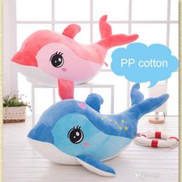 Decorazioni dei delfini online-Lovely 40cm carino dolphin delfino animali di peluche per bambini giocattoli di peluche casa pendente partito squishy decorazioni regalo di natale