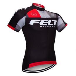 2019 FELT uomini manica corta maglia ciclismo Ciclismo top mtb bicicleta  indossare solo camicia della bici all aperto Racing abbigliamento vendita  diretta ... 2e88091b6
