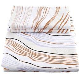 Set di biancheria da letto in cotone egiziano di lusso con 3 pezzi e 2 letti queen size da