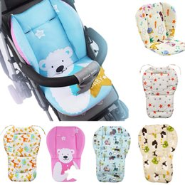 Baby Stroller Seat Cushion Pushchair High Chair Pram Car Colorful Soft Mattress Carriages Seat Pad Winter Stroller Mat Accessory