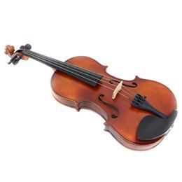 2019 partes de violino usadas Fosco Pintura Feito à Mão Violin Profissional Instrumentos de corda de bordo Madeira Antique Violin Violino