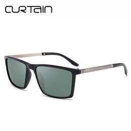 7dfcaa5ae6 CURTAIN Classic Sunglasses Men Brand Designer Sun Glasses Reflective  Coating Square Spied Women Rectangle Eyewear gafas de sol