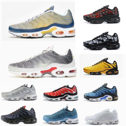 scarpe zapatillas in esecuzione Sconti Nike Air Max Plus Tn 2019 Chaussures Tns Se Greedy Running Shoes Trainers Ultra Plus OG SE Pack Sneakers Zapatillas de Sports Size 40 -46
