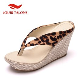 3c038f75875d1d 2019 cales roses chaudes ALLENLYNN 2019 New Hot High Wedges tongs Femme  Grande Taille 33-