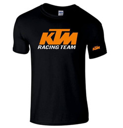 Camisa fresca de carreras online-rare KTM-Racing-Moto-Bike-Auto-Racing-Motorcycle- NUEVAS CAMISETAS S-5XL 2018 Funny Tee, Cute Tshirts Hombre, 100% Cotton Cool,