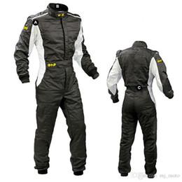 Nueva Llegada 2017 OMP Karting Suit Car Motorcycle Racing Club Ropa de Ejercicio Trajes Stig Suit Dos Capas Impermeable desde fabricantes