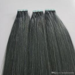CE Ceitification toptan fabrika doğrudan ücretsiz örnek Brizilian virgin İnsan Saç doğal renk Bant saç uzantıları nereden