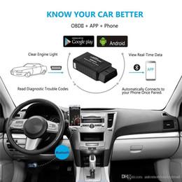 Scanner obd para audi on-line-ELM327 V1.5 OBD2 Scanner KW910 Bluetooth Auto Scanner PIC18F25K80 ferramenta de diagnóstico OBD 2 Scanner ELM 327