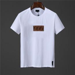 círculos de ropa Rebajas Diseñador para hombre Camisetas Moda para hombre Ropa de lujo 2019 Verano Camiseta ocasional Cuello cuello manga corta M-3XL
