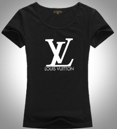 Camisas italianas de qualidade on-line-impressão Européia Italiana de algodão de alta qualidade clássica letra T-shirt da forma casuais algodão T-shir T-shirt dos homens