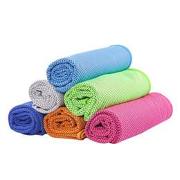 Nueva natación de verano toalla de enfriamiento ligero transpirable reutilizable atlético frío frío frío mojado toallas para instantáneo desde fabricantes