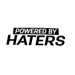 roof cars Promo Codes - Powered by haters Drift Stance Fashion Personality Creativity Classic Attractive car truck window vinyl sticker