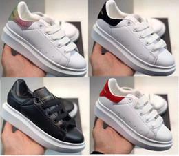 entrenadores de lona para niños Rebajas Zapatos para niños Moda niños niñas Zapatillas de deporte Mocasines con plataforma Mocasines de lona Diseñador Chaussures de lujo enfants Zapatillas de deporte ocasionales de cuero para niñas